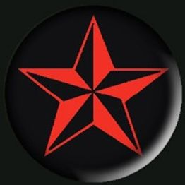 316 - Nautical Star (Red)
