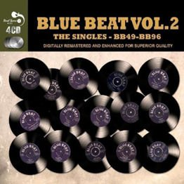 Blue Beat The Singles - Vol. 2 BB49 - BB96 (Remastered / 4 CD)
