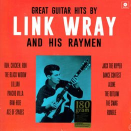 Great Guitar Hits By Link Wary And His Rymen (LP 180 g, czarny winyl)