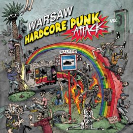 Warsaw Hardcore Punk Attack vol. 3 (LP + CD, żółty winyl))