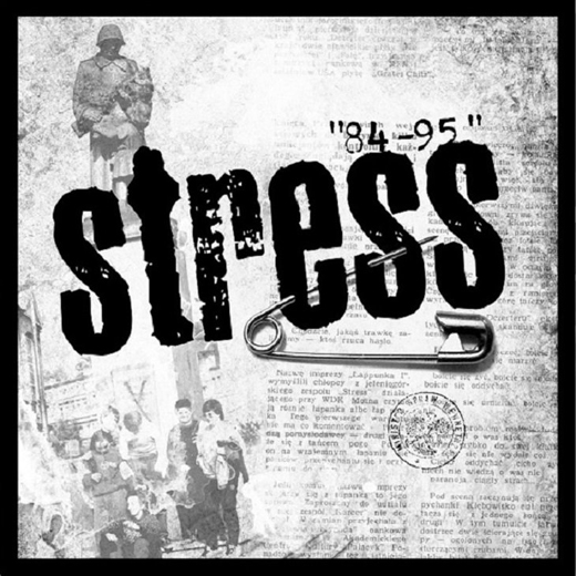 LP STRESS - 84-95 (cover)