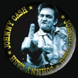156 - Johnny Cash (niebieski)