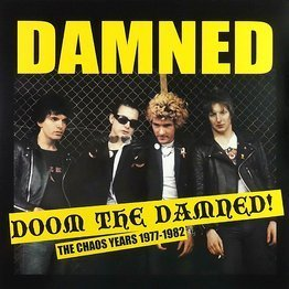 Doom The Damned!: The Chaos Years 1977-1982 (LP, czerwony winyl)