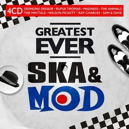 Greatest Ever Ska & Mod (4 CD)