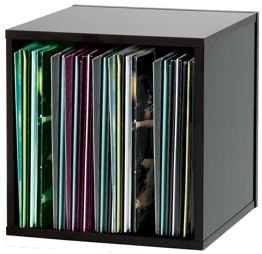 Szafka na winyle (Record Box 110, black)