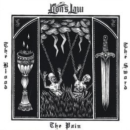 The Pain, The Blood And The Sword  (LP, czerwono-czarny splatter)