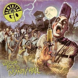 Welcome Back To Insanity Hall (LP, kolorowy winyl)